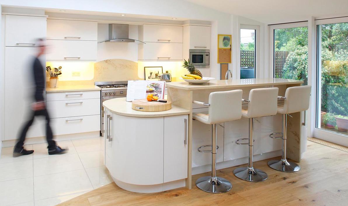 Cream Kitchen Design Ideas  Quicuacom - Fitted kitchen design ideas