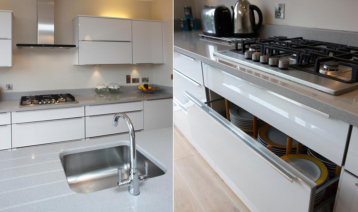 Nolan kitchens horizon modern gloss kitchens