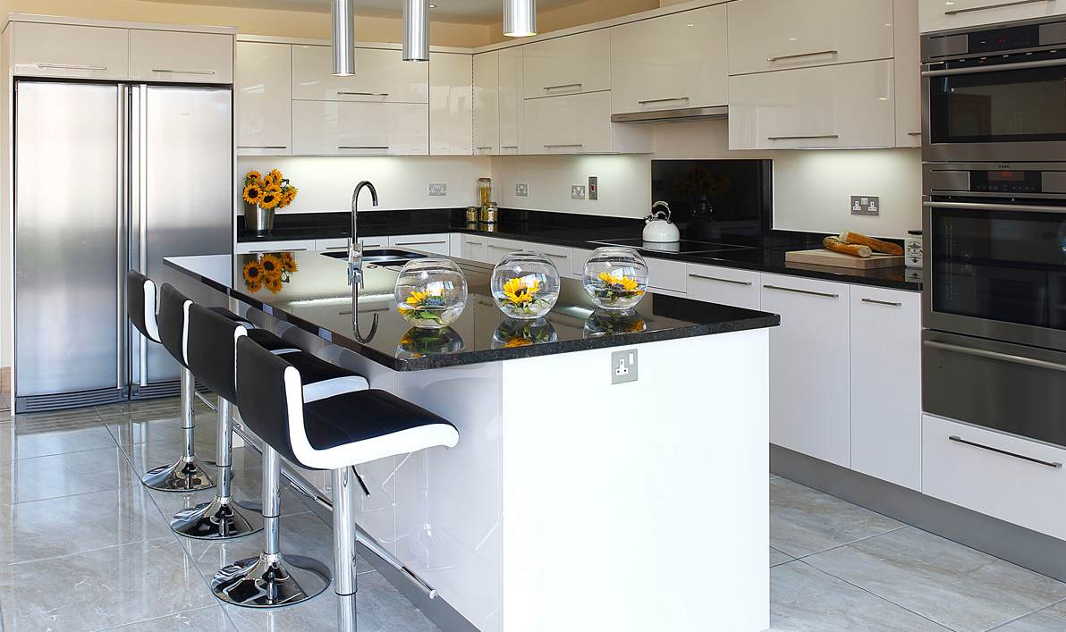 Nolan Kitchens Oriel Modern Gloss Kitchens