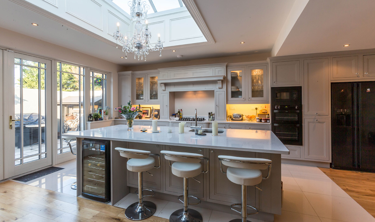 Nolan kitchens mayfair in frame in frame kitchens for Kitchen design images gallery