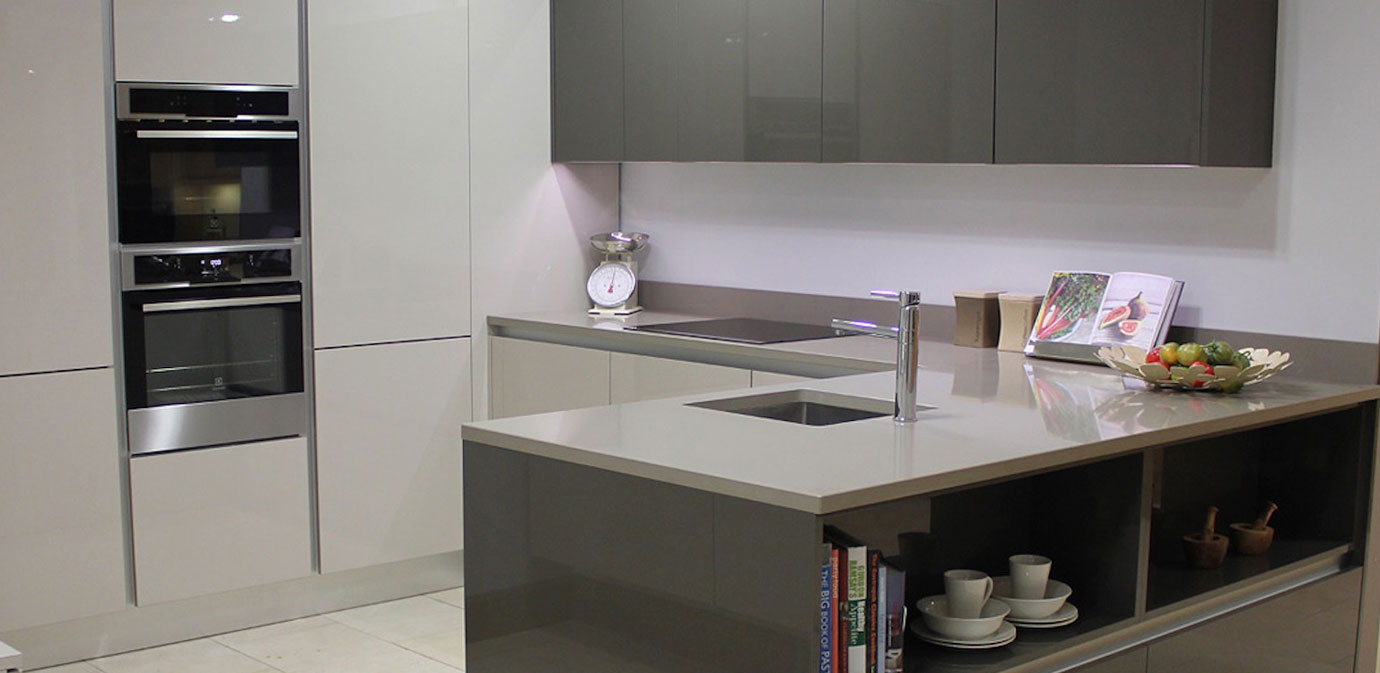 High Gloss Gola Kitchen