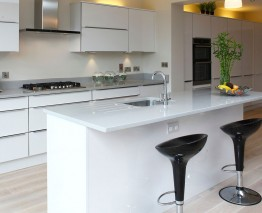 High Gloss Horizon Kitchen