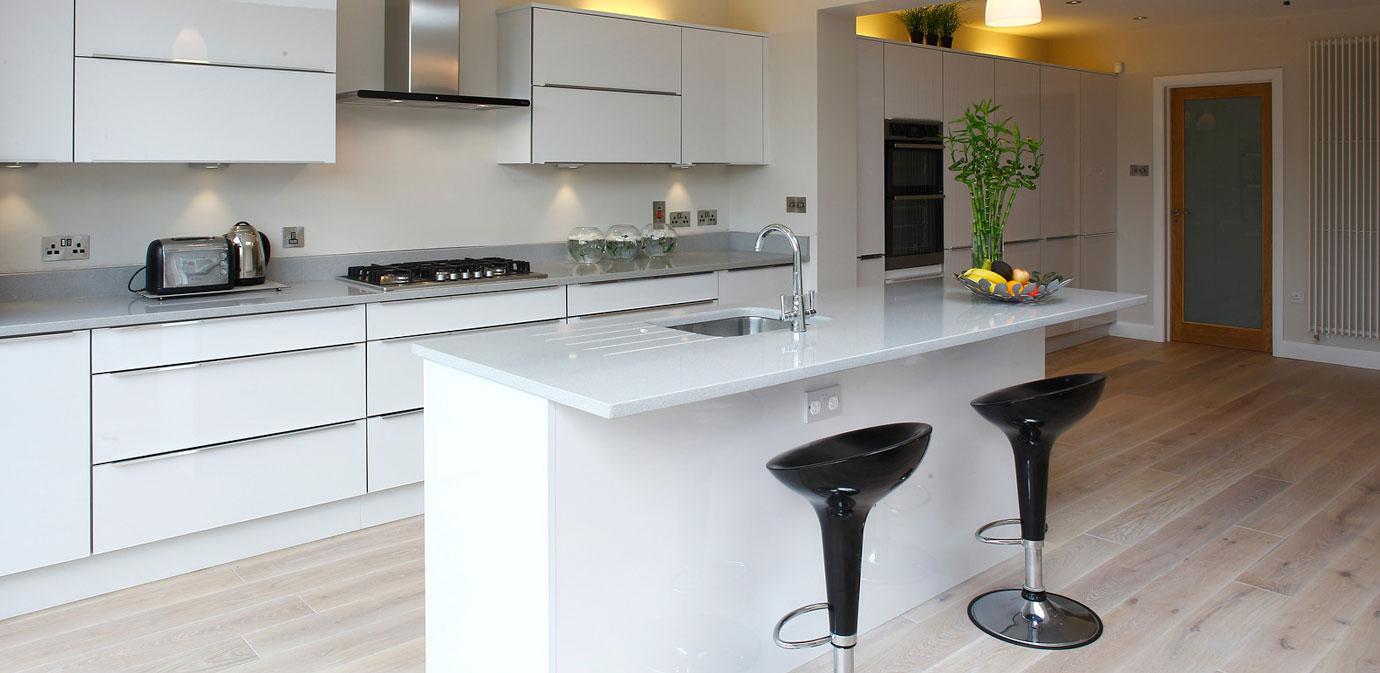 Nolan kitchens horizon high gloss kitchen for Kitchen design ireland