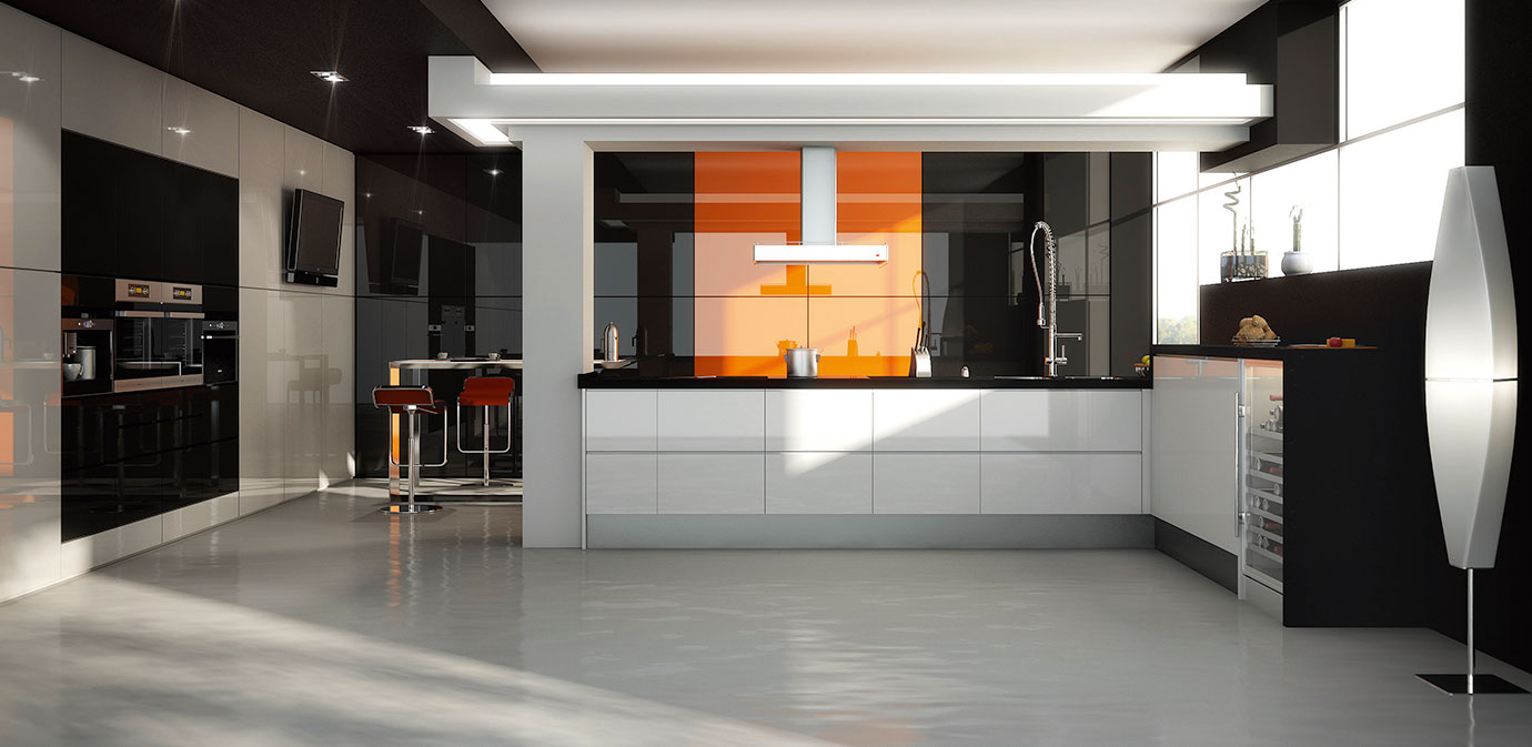 Linear Gloss Kitchen