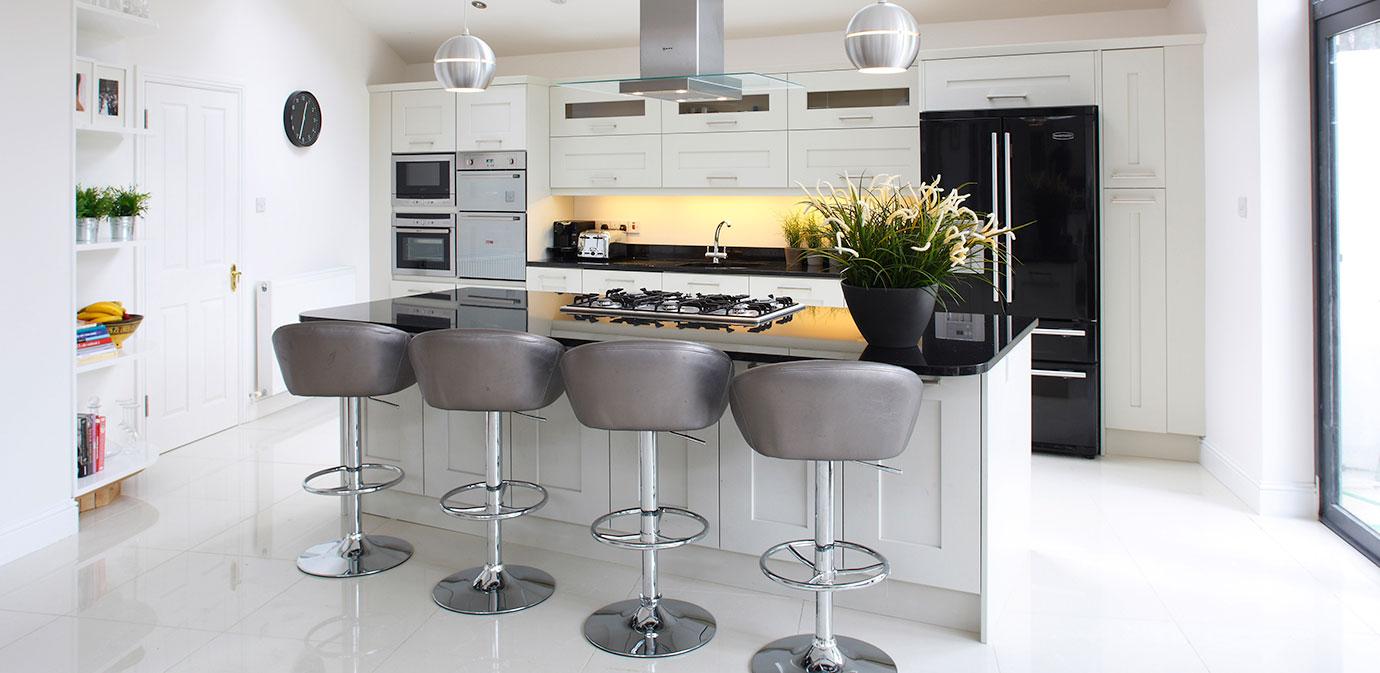 Nolan kitchens simpson contemporary kitchen for Bathroom planner ireland
