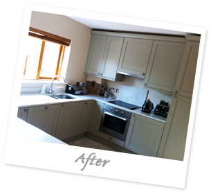 Kitchen Testimonial, After