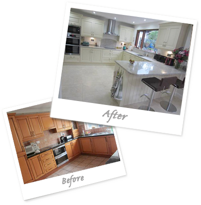 Kitchen Testimonial, Before & After